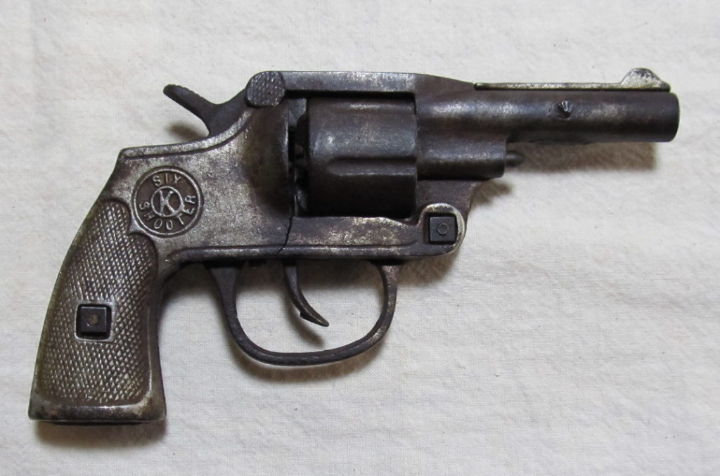 kilgore six shooter cap pistol 2