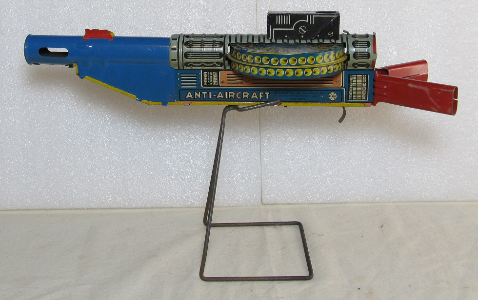 marx tin litho wind-up anti-aircraft gun 2