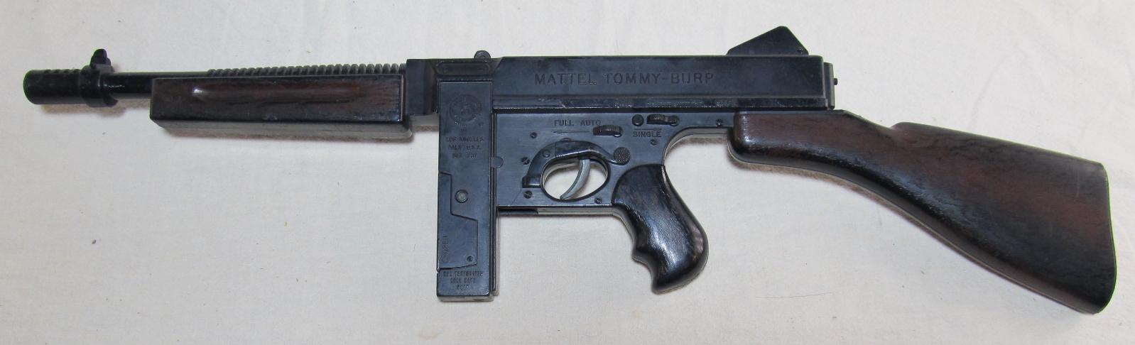 mattel tommy burp gun 2