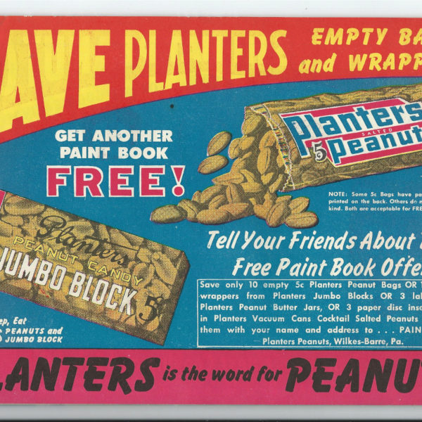 planters mr peanut paint book 2