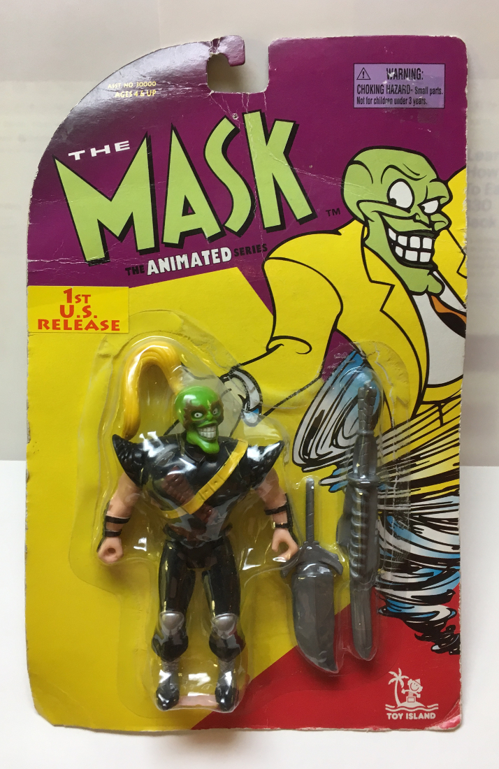 toy island the mask animated series ninja mask 2