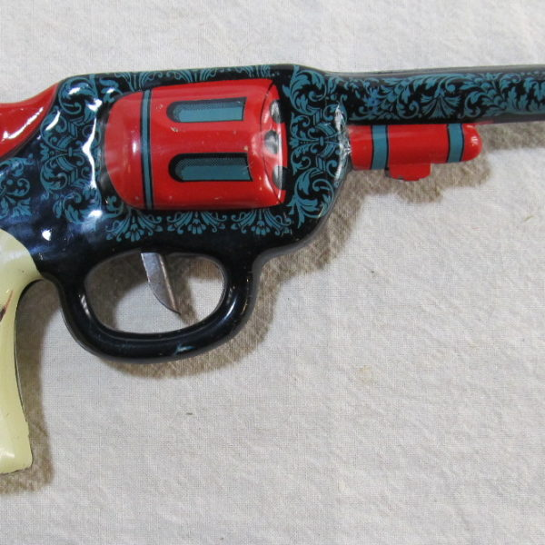 ohio art tin litho clicker gun 1