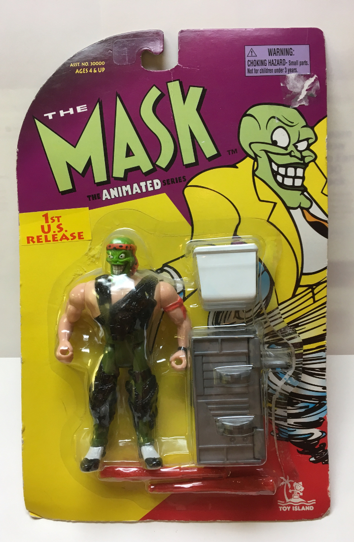 toy island the mask animated series sgt mask 1