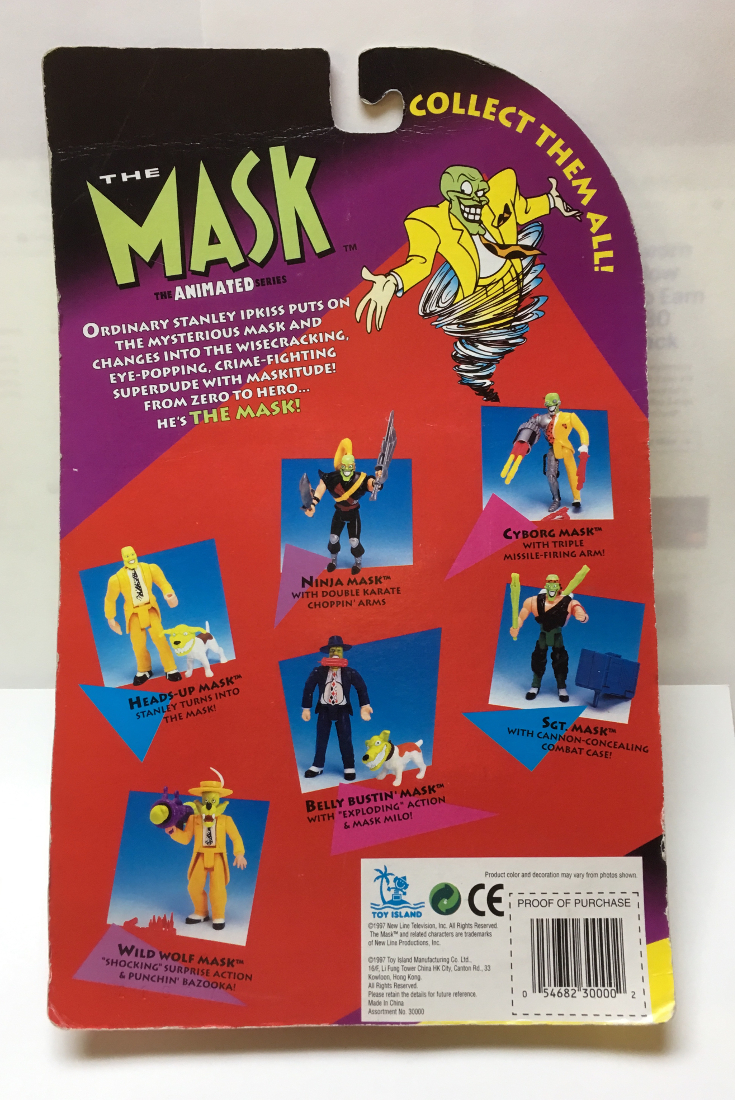 toy island the mask animated series sgt mask 2