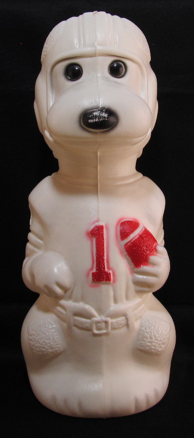 football snoopy coin bank 1