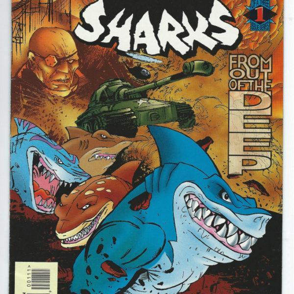 street sharks comic book mini-series 2