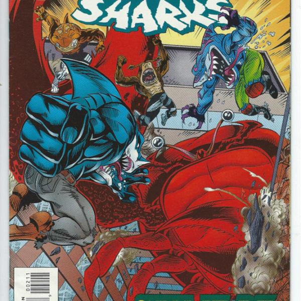 street sharks comic book mini-series 3