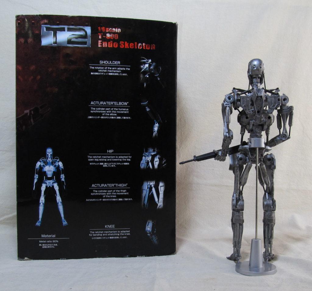 toynami t-800 endoskeleton 2