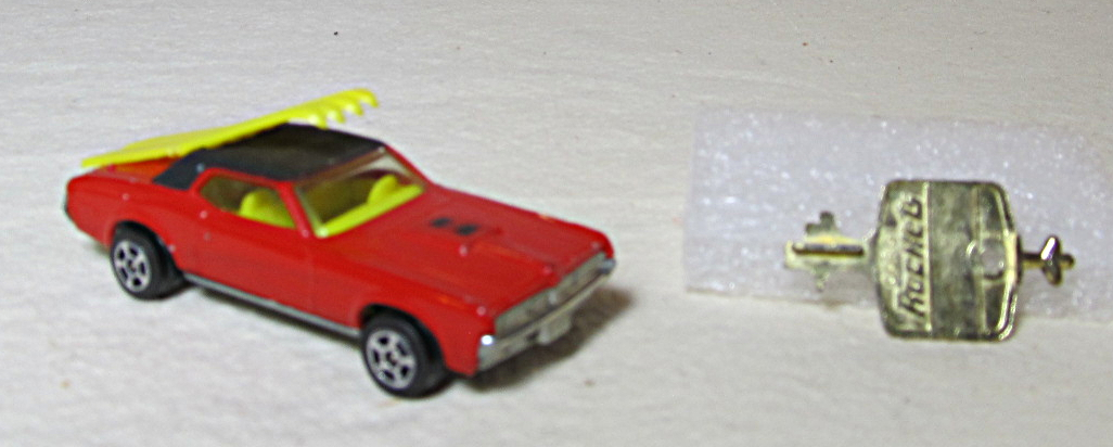 corgi rockets james bond mercury cougar xr7 1