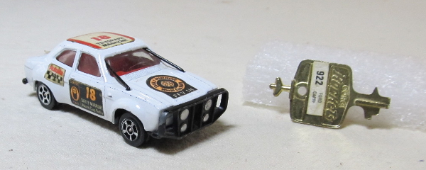 corgi rockets ford escort 1