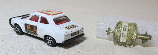 corgi rockets ford escort 2