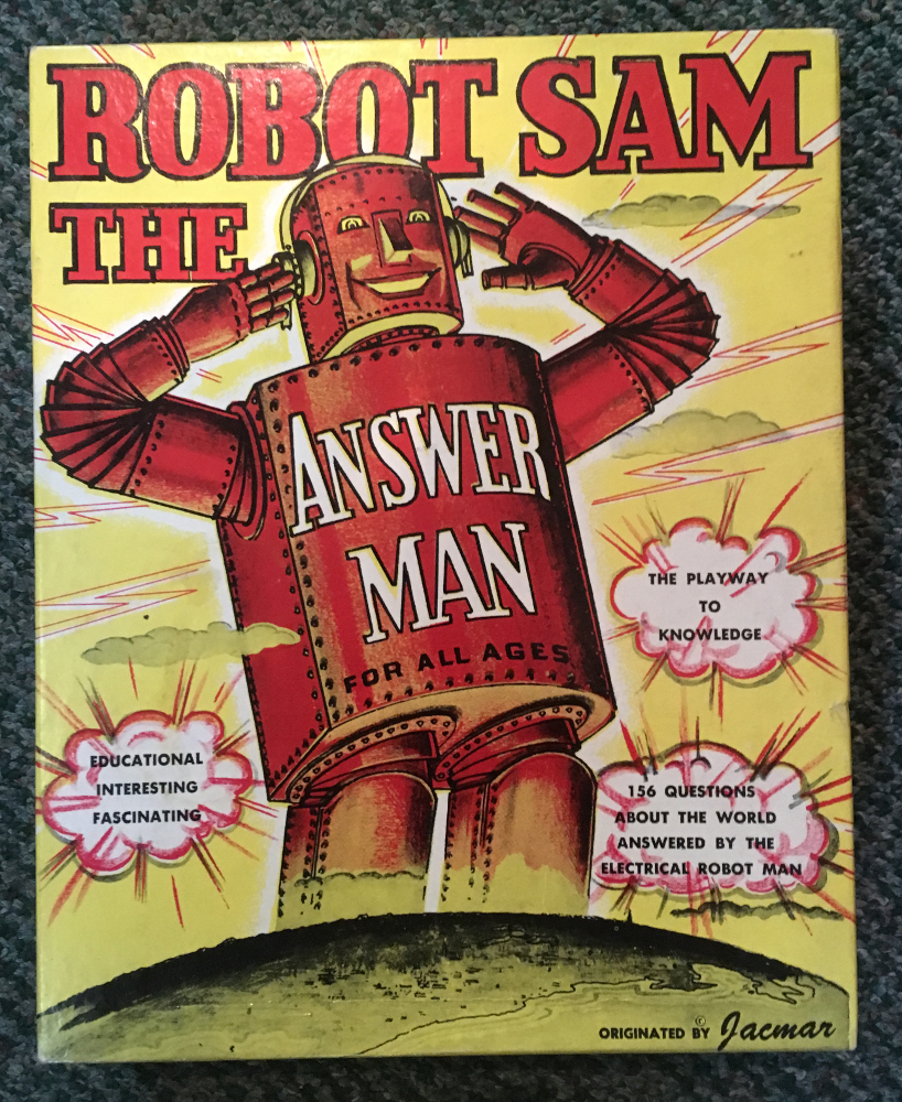 robot sam the answer man game 1