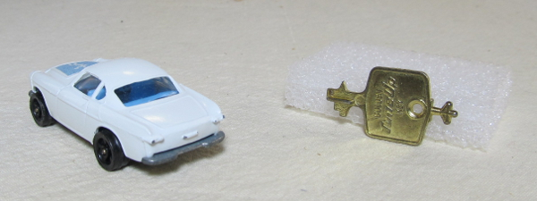 corgi rockets the saint's volvo p1800 2