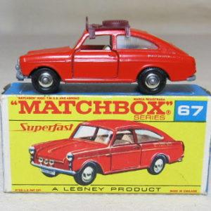 matchbox 67b vokkswagen 1600TL 2