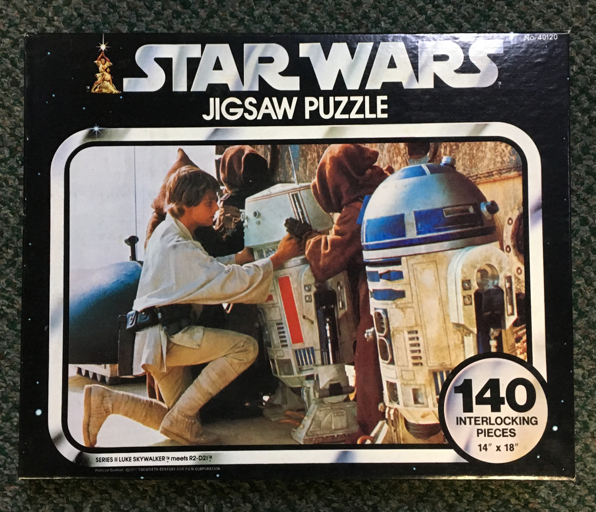 luke skywalker meets R2-D2 puzzle