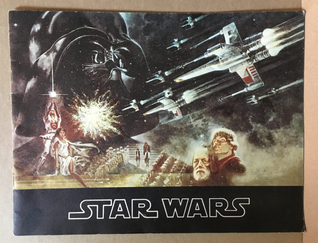 1977 star wars movie souvenir program 1