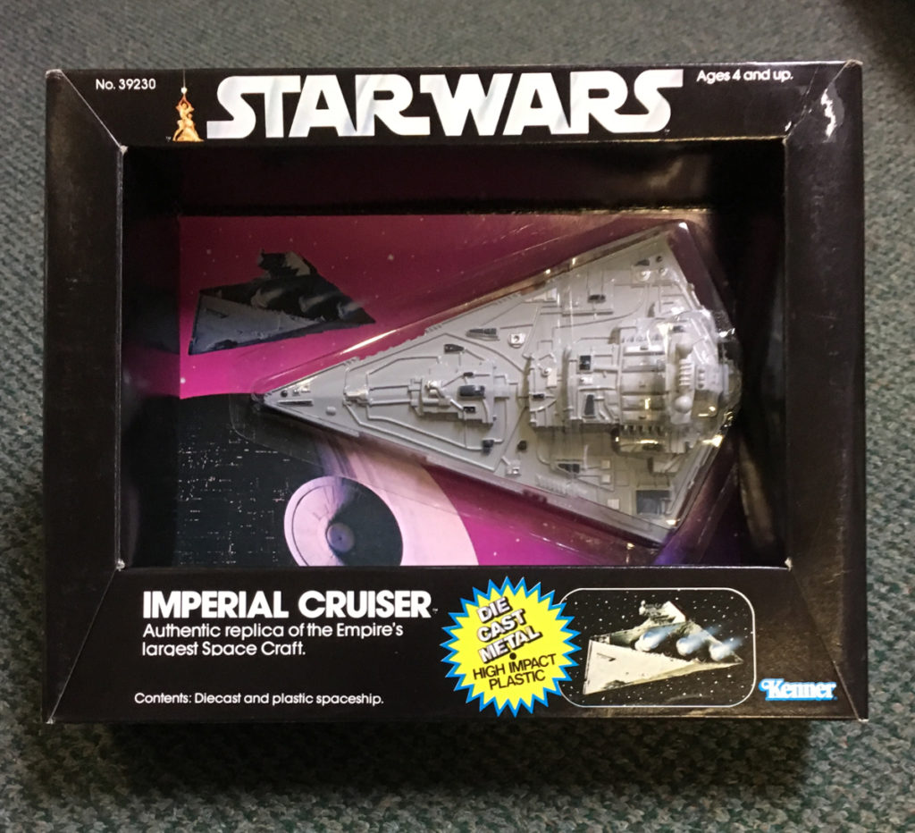 star wars diecast imperial cruiser 1