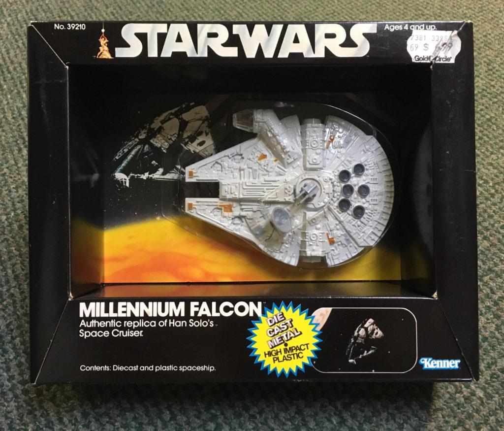 kenner diecast millennium falcon 1