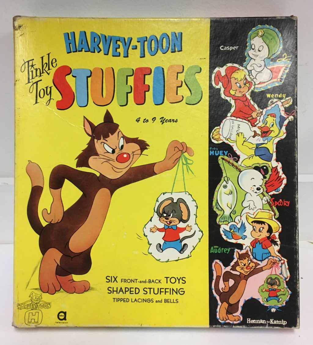 harvey toons tinkle toy stuffies 1