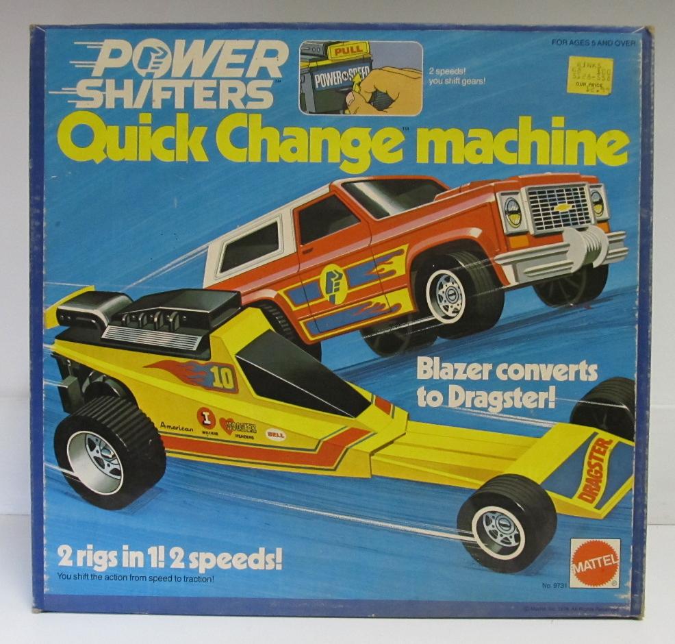 mattel quick change machine 1