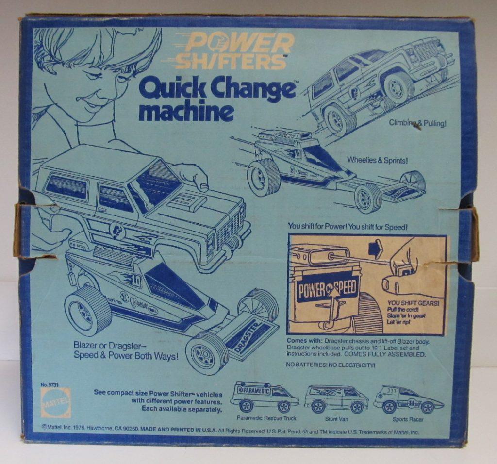 mattel quick change machine 2