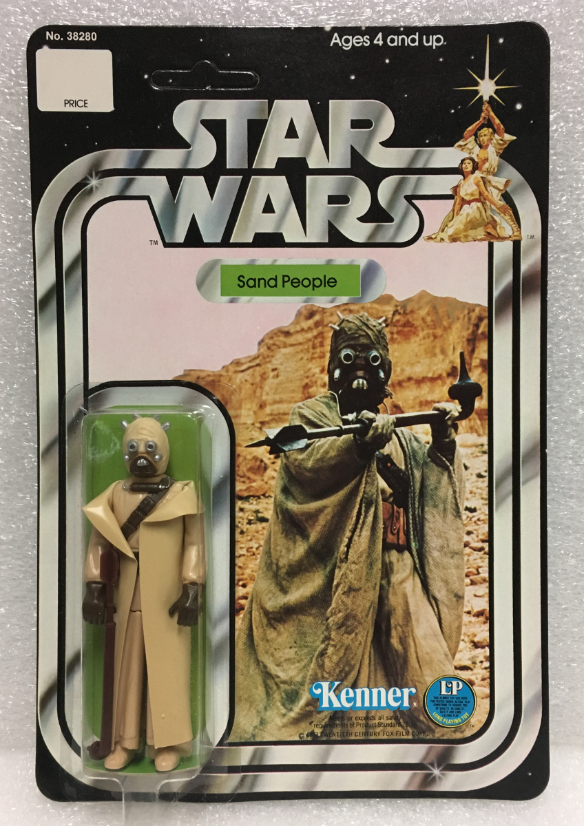 kenner star wars 12-back sand people 1