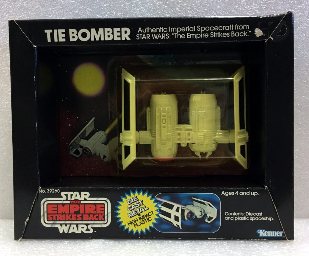 kenner star wars die cast tie bomber 1
