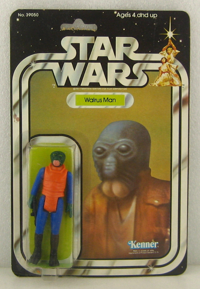 kenner star wars 20-back walrus man 1