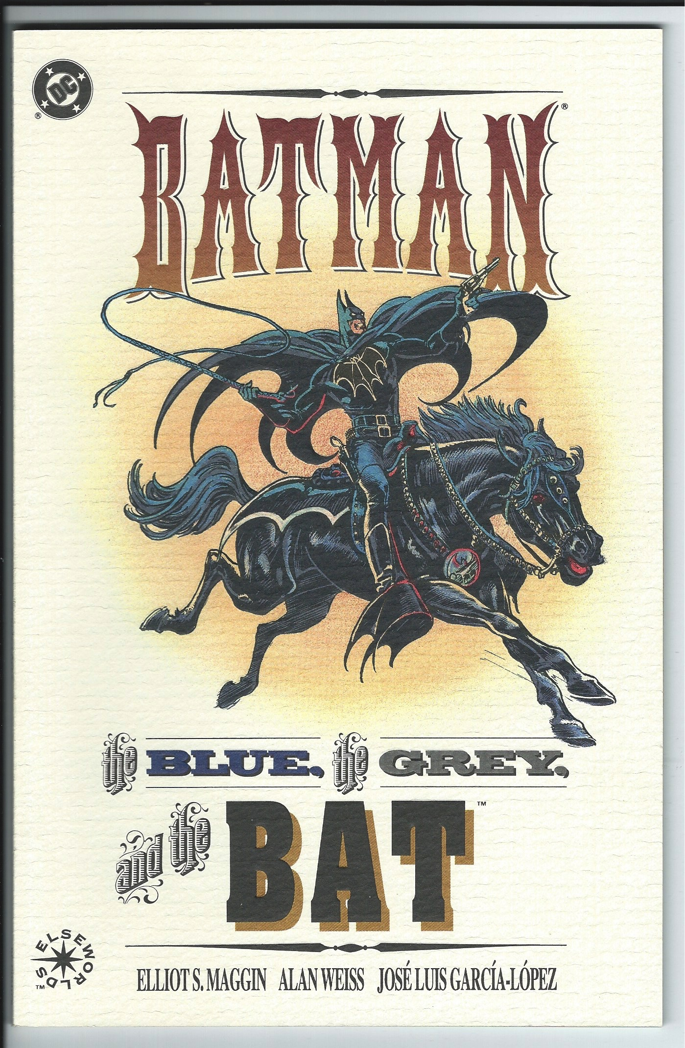 DC Comics Elseworlds Batman: the Blue, the Grey and the Bat