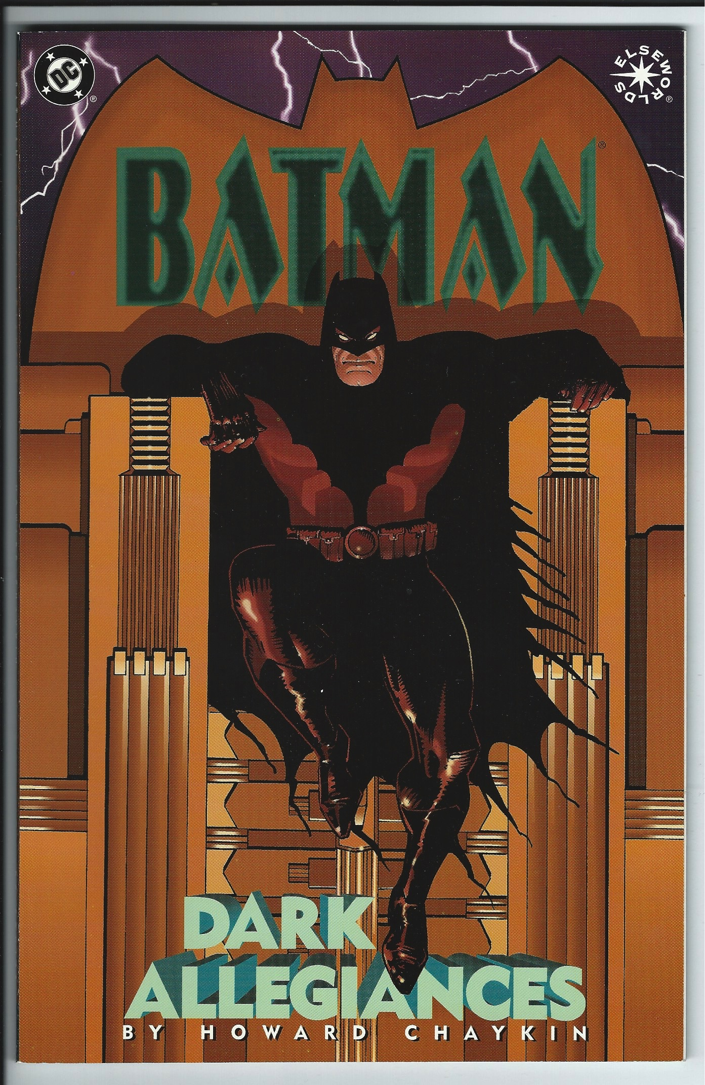 DC Comics Elseworlds Batman: Dark Allegiances Graphic Novel