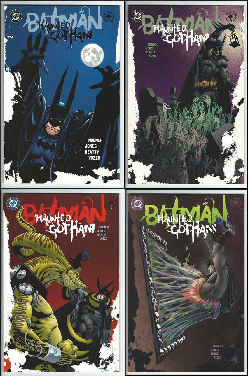 DC Elseworlds Batman: Haunted Gotham 1 - 4 (Complete Set)