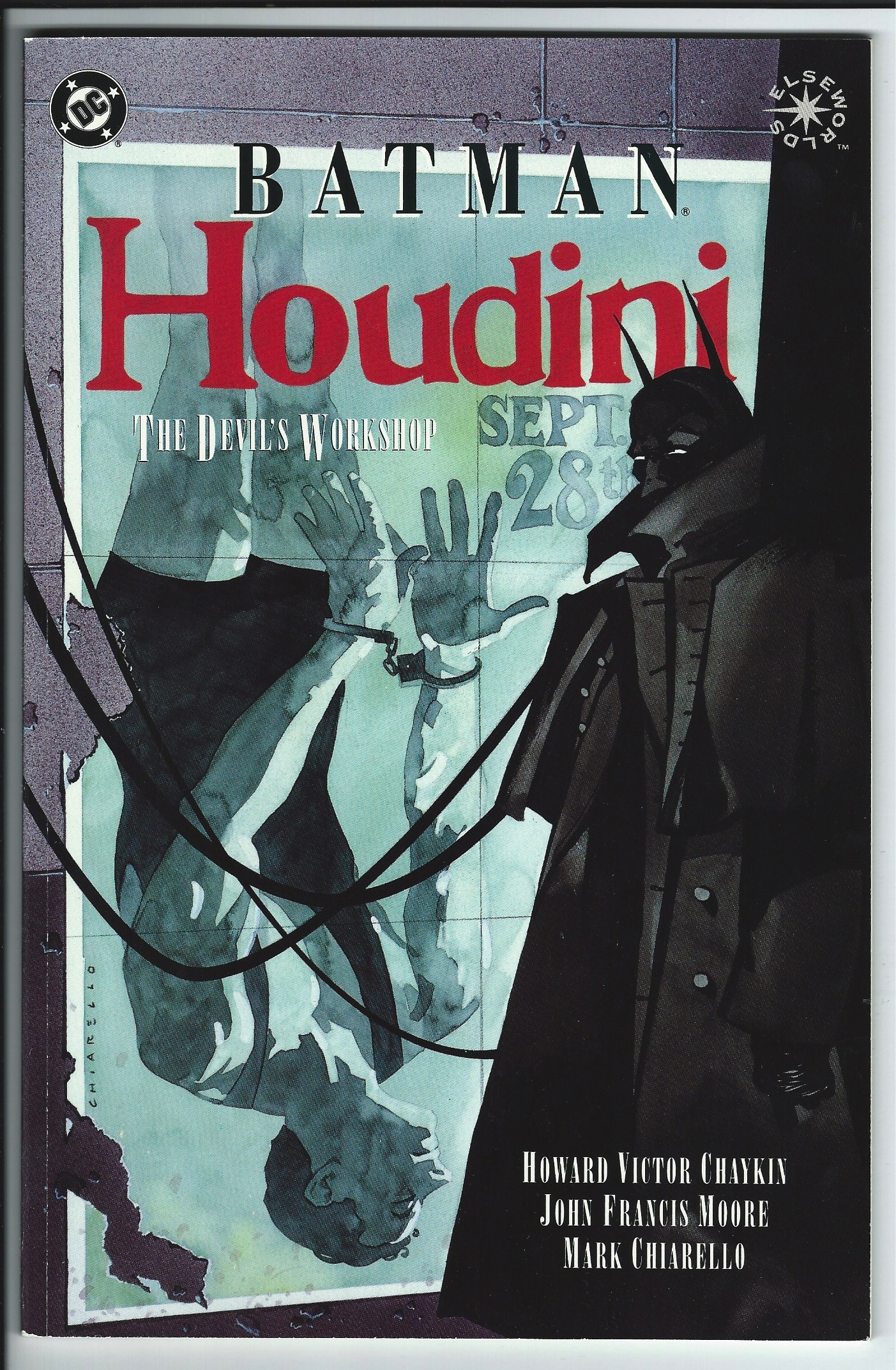 DC Comics Elseworlds Batman: Houdini Graphic Novel