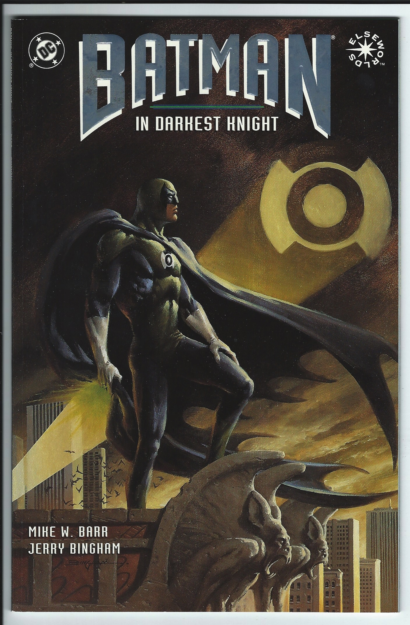 DC Comics Elseworlds Batman: In Darkest Knight Graphic Novel