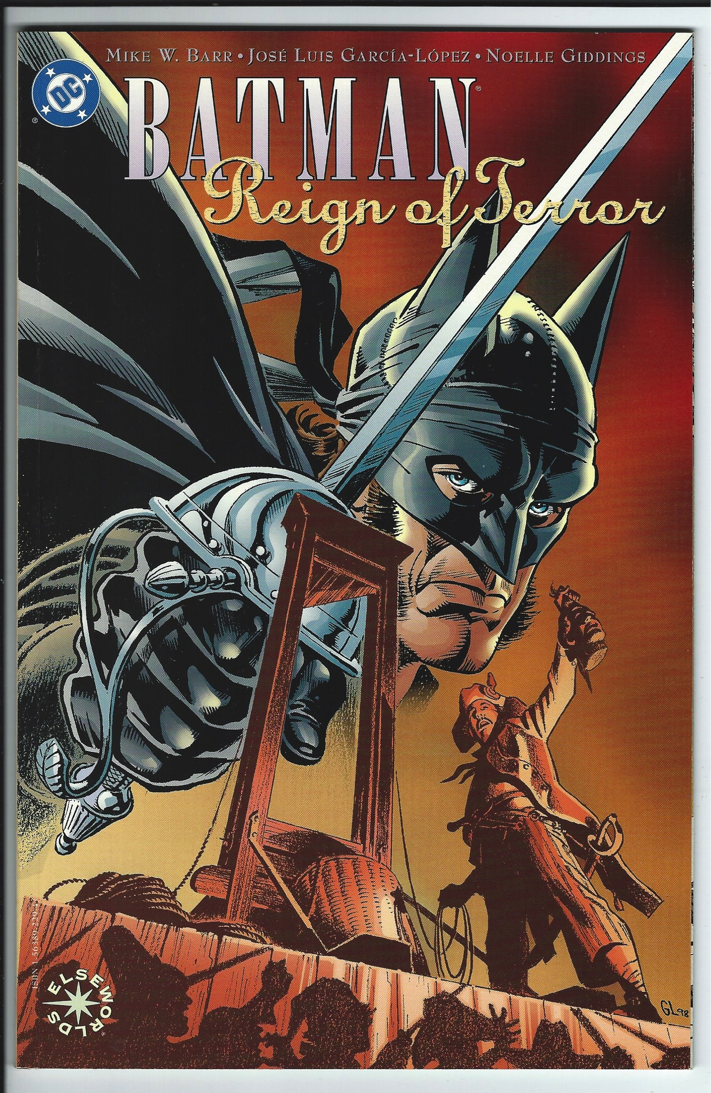 DC Comics Elseworlds Batman: Reign of Terror Graphic Novel