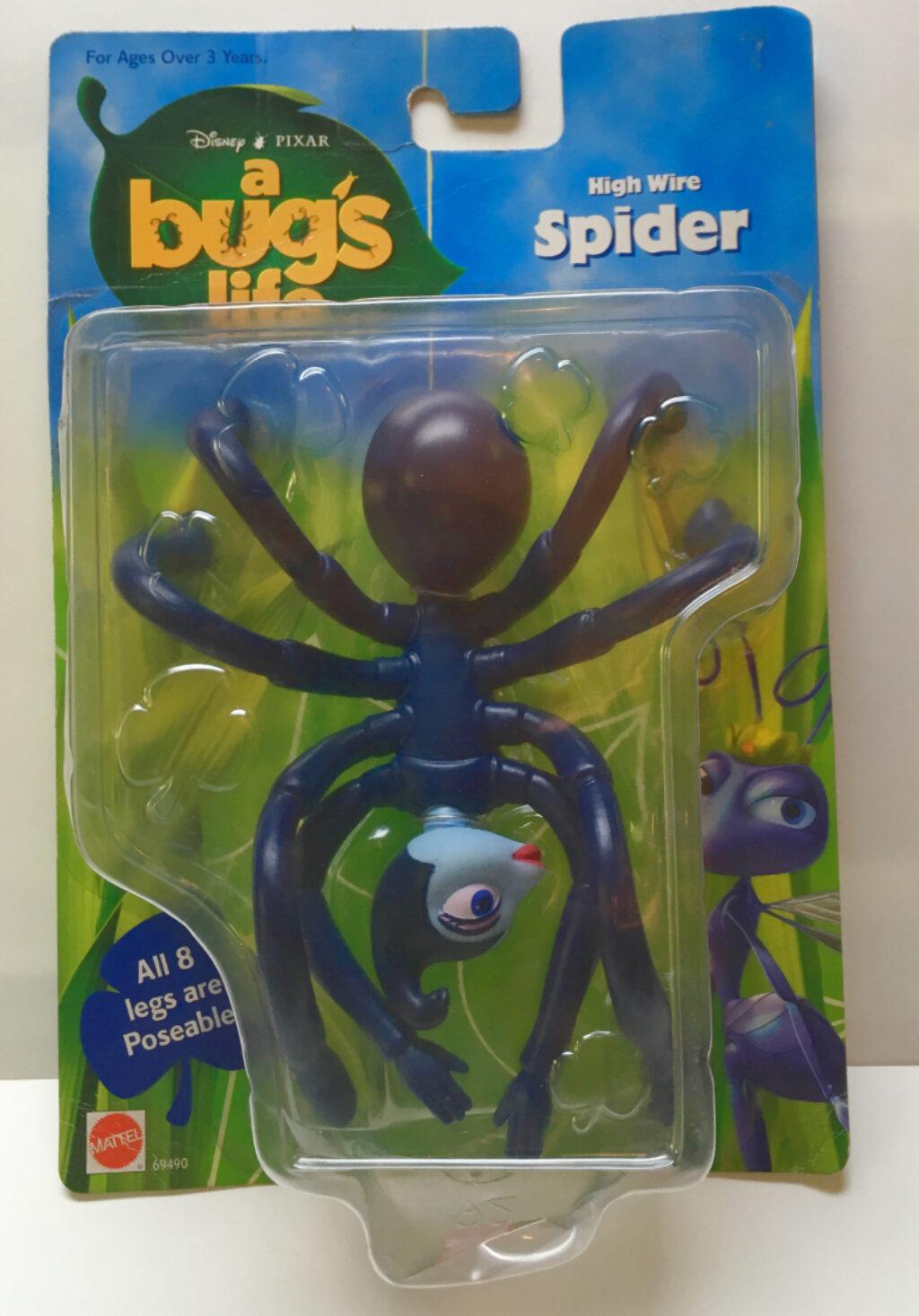 mattel a bug's life spider 1
