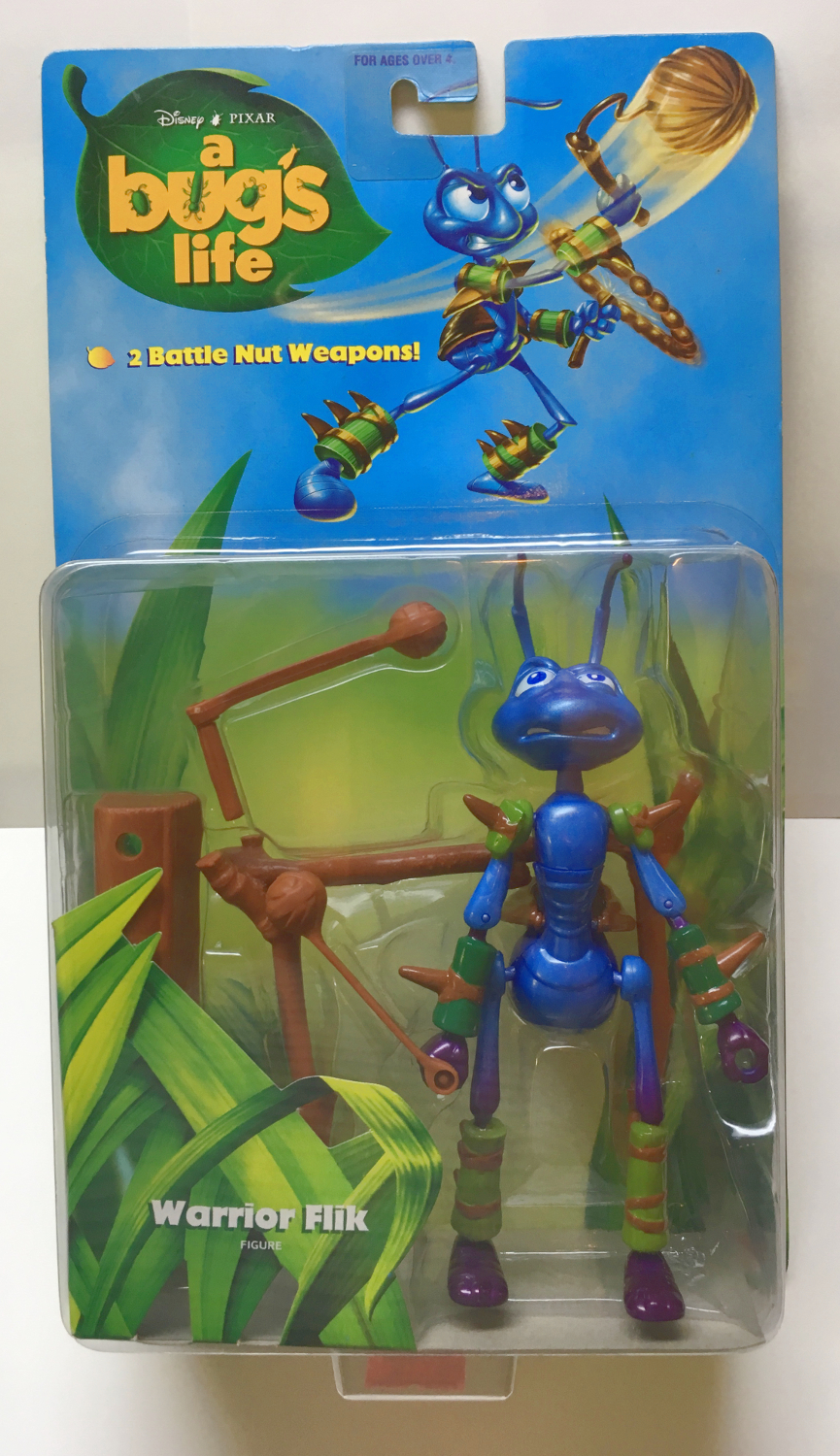 mattel a bug's life warrior flik 1