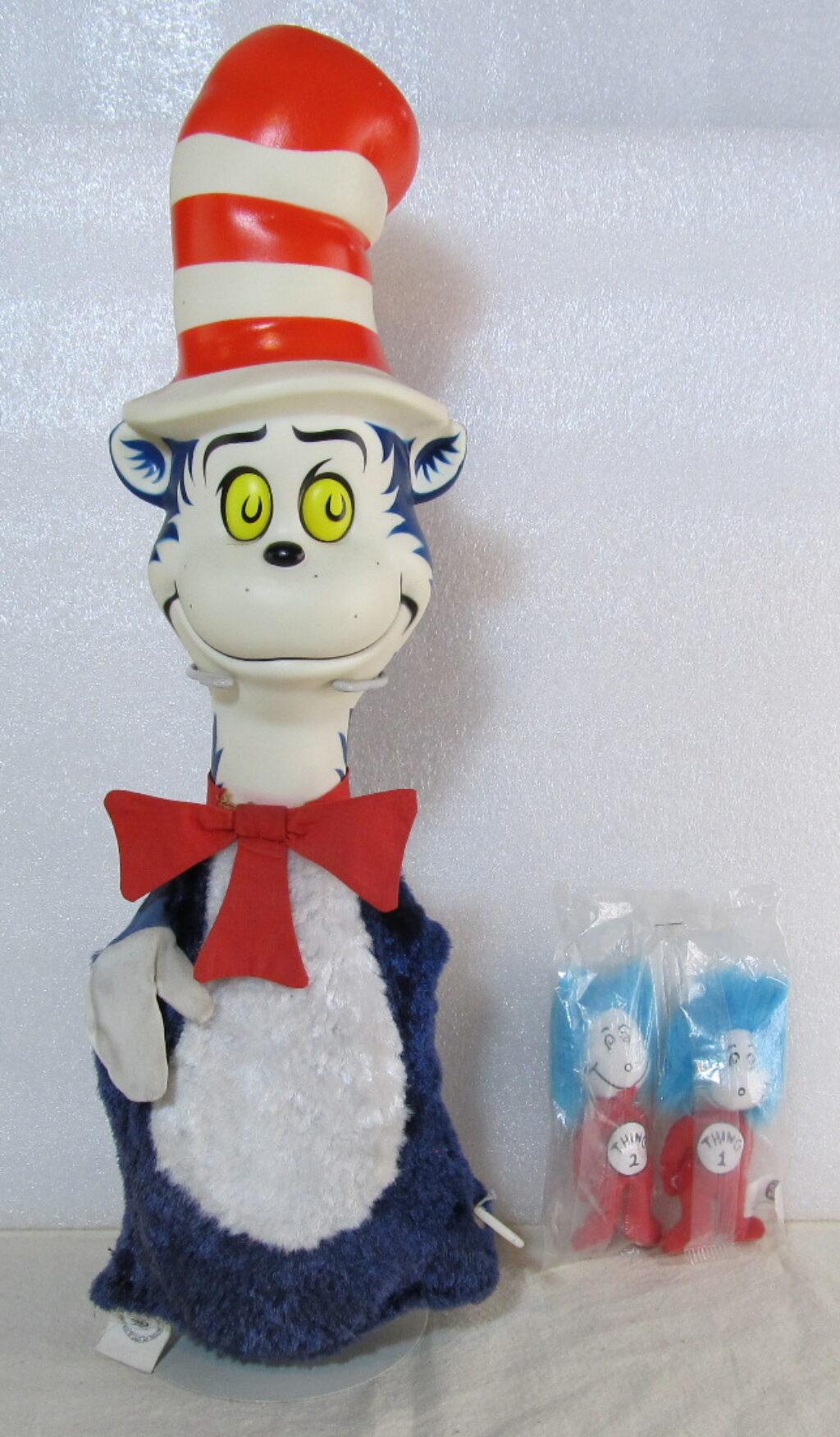 mattel talking cat in the hat puppet 1
