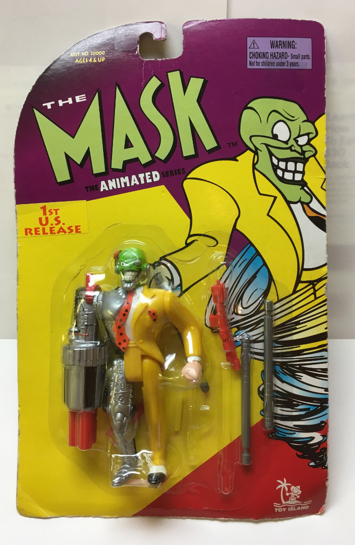 toy island the mask animated series cyborg mask 1