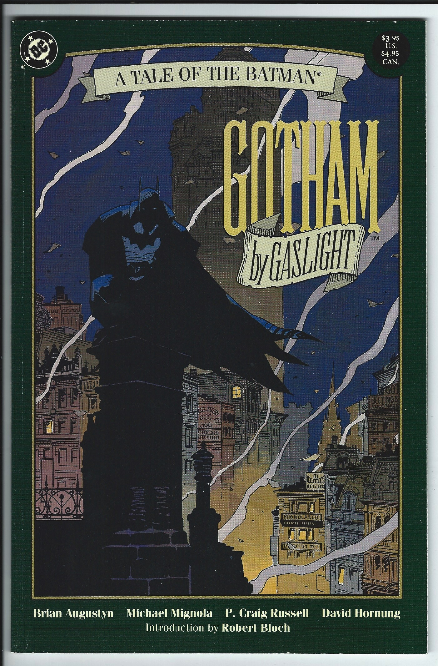 DC Comics Elseworlds Batman: Gotham by Gaslight Graphic Novel