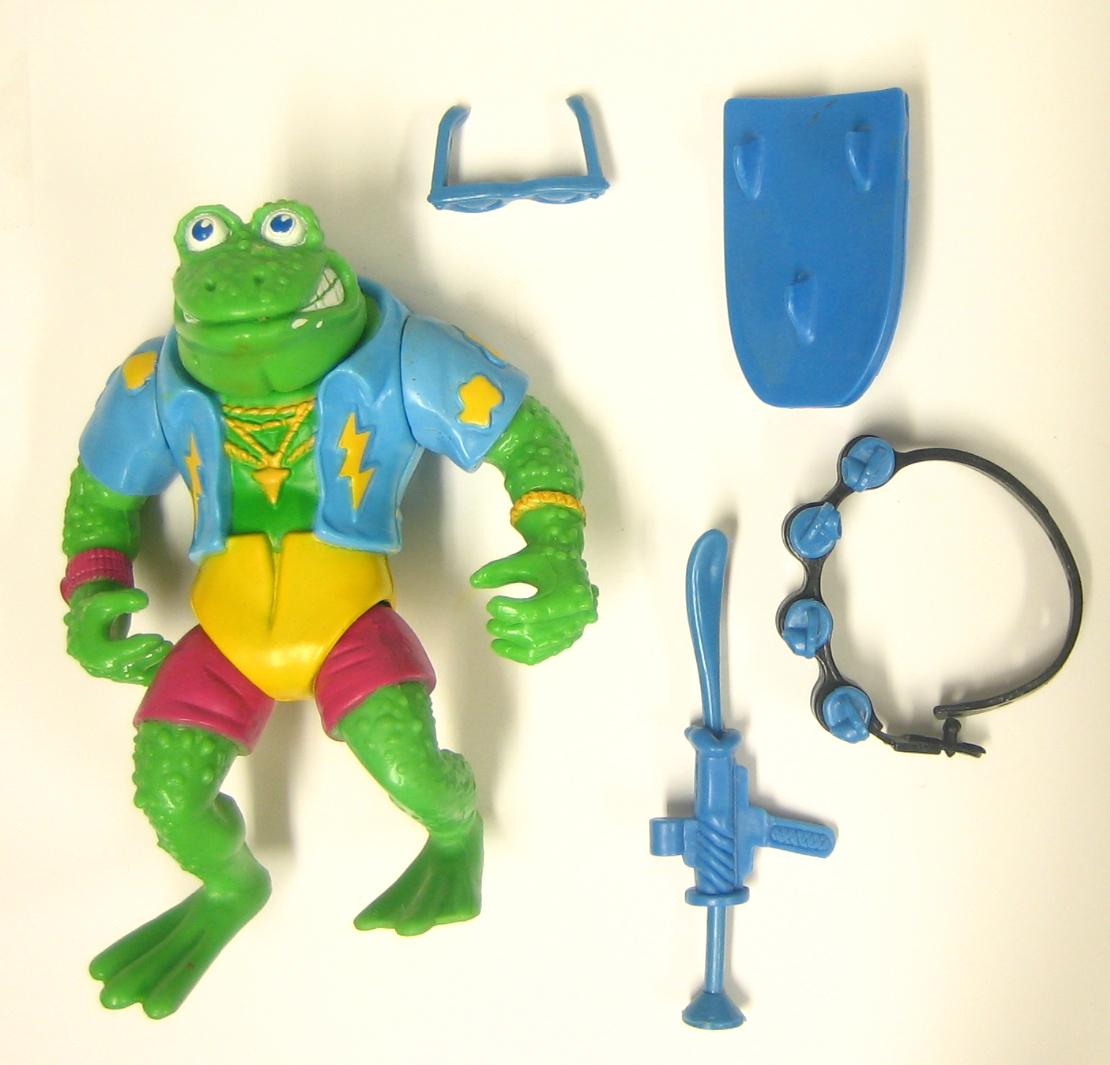 TMNT Original Series Genghis Frog Action Figure