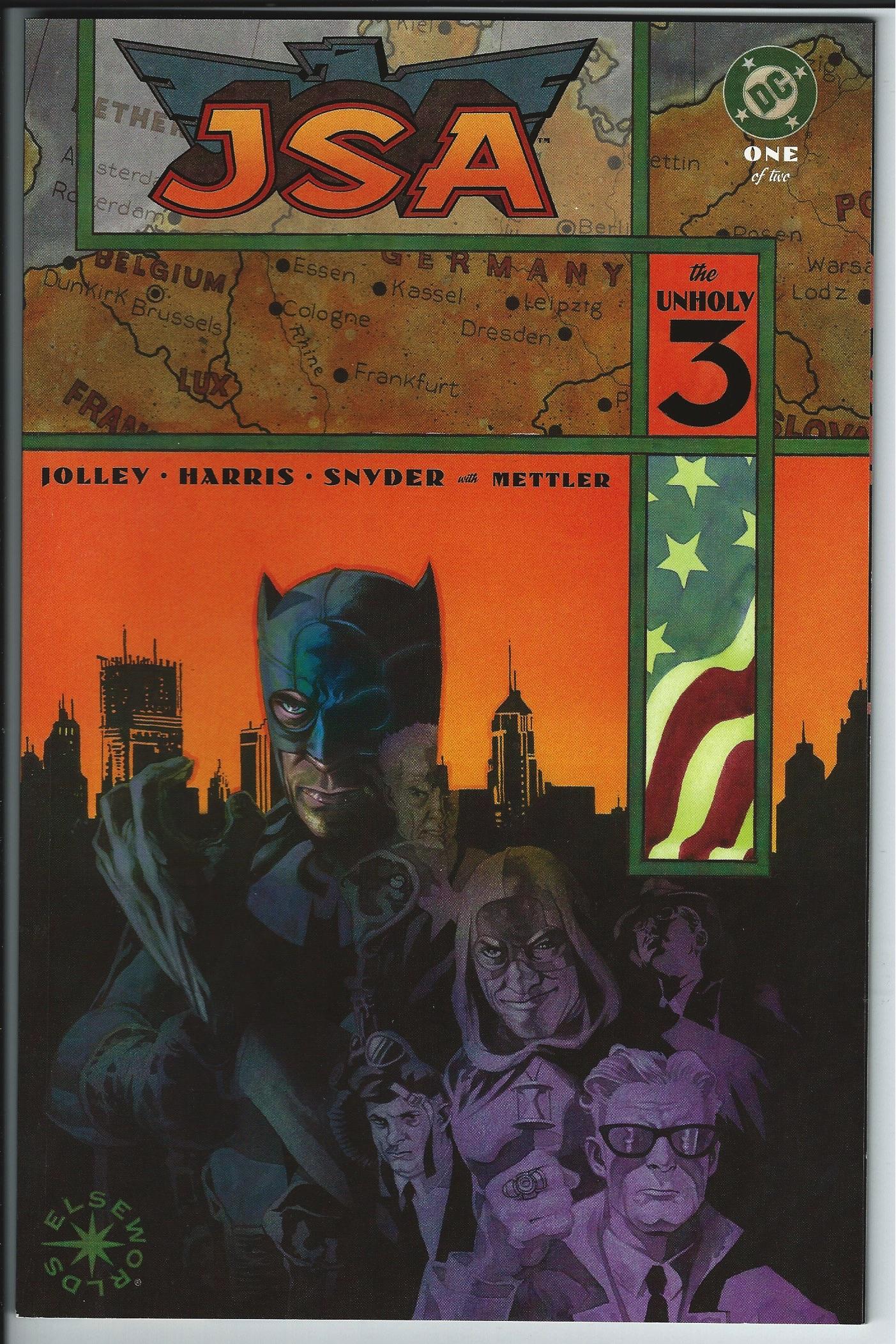 DC Comics Elseworlds JSA, The Unholy 3: 1 & 2 Graphic Novel