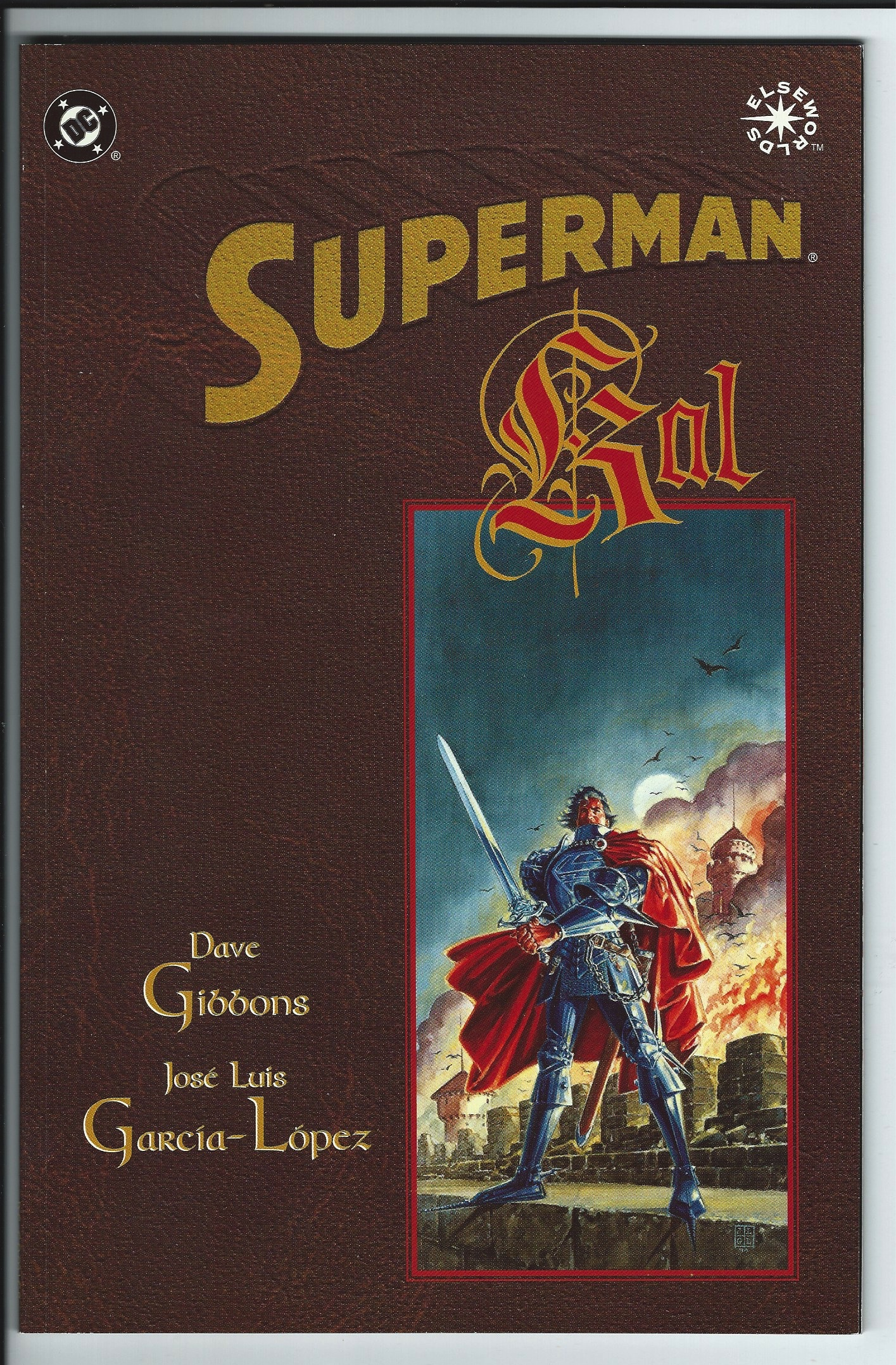 DC Comics Elseworlds Superman Kal Graphic Novel