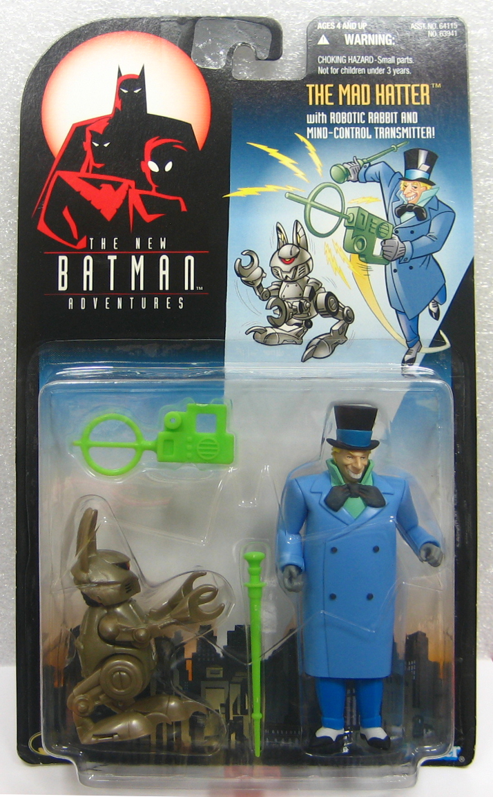 The New Batman Adventures Mad Hatter Action Figure - MOC