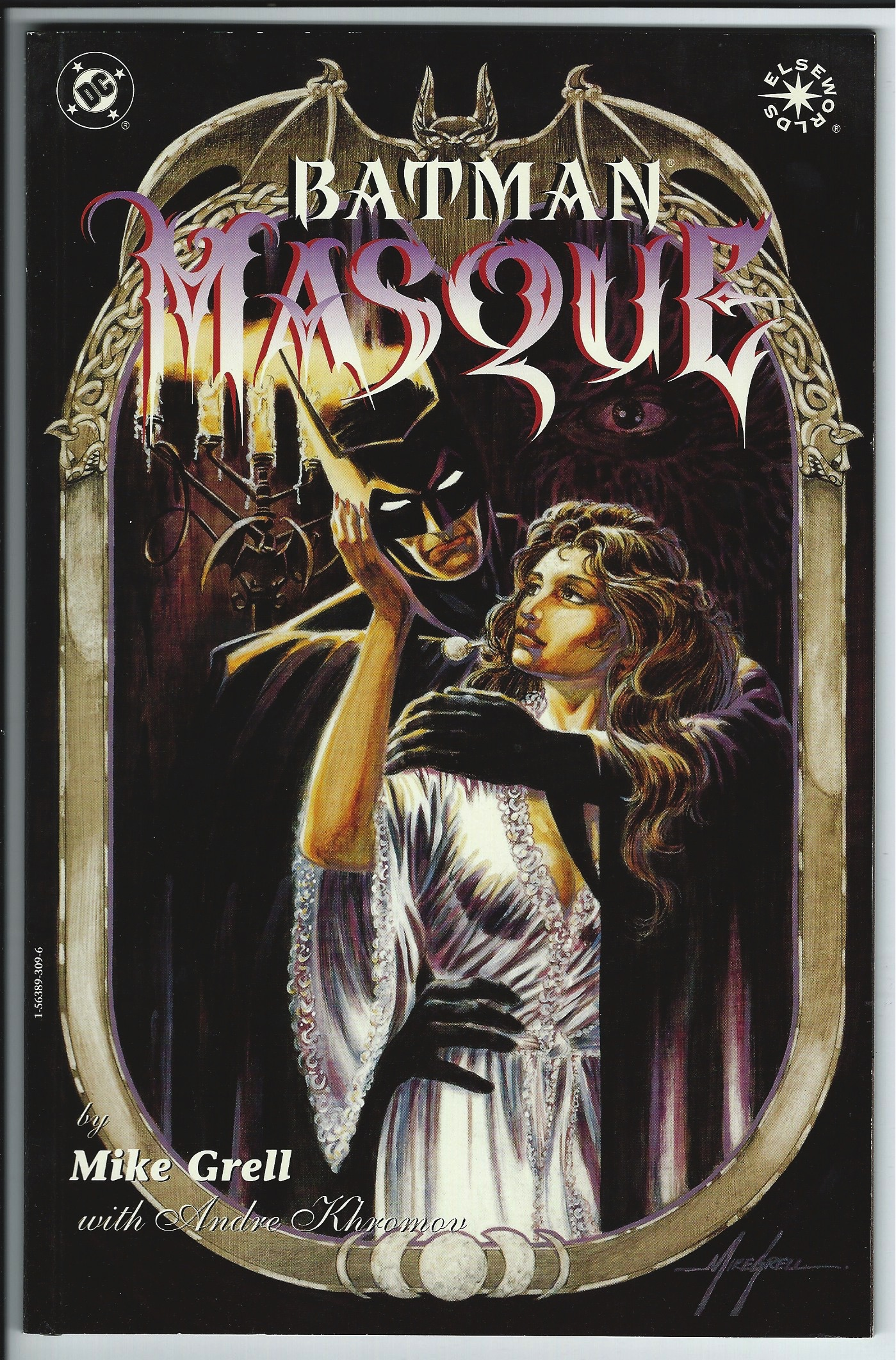 DC Comics Elseworlds Batman Masque Graphic Novel