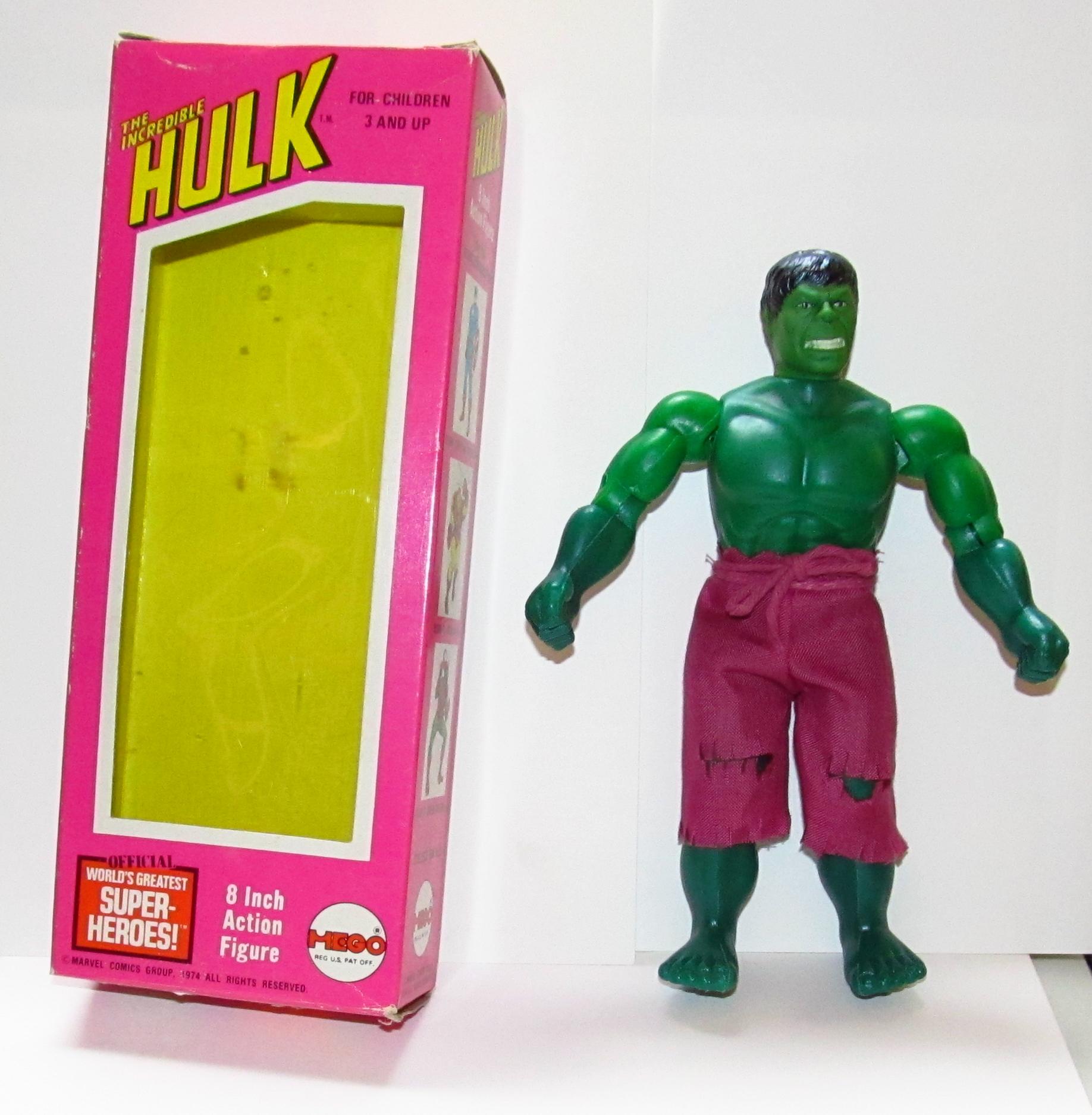 mego incredible hulk
