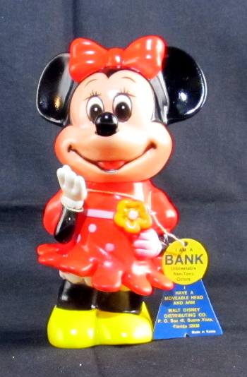 dakin vinyl dakin minnie mouse coin bank 1