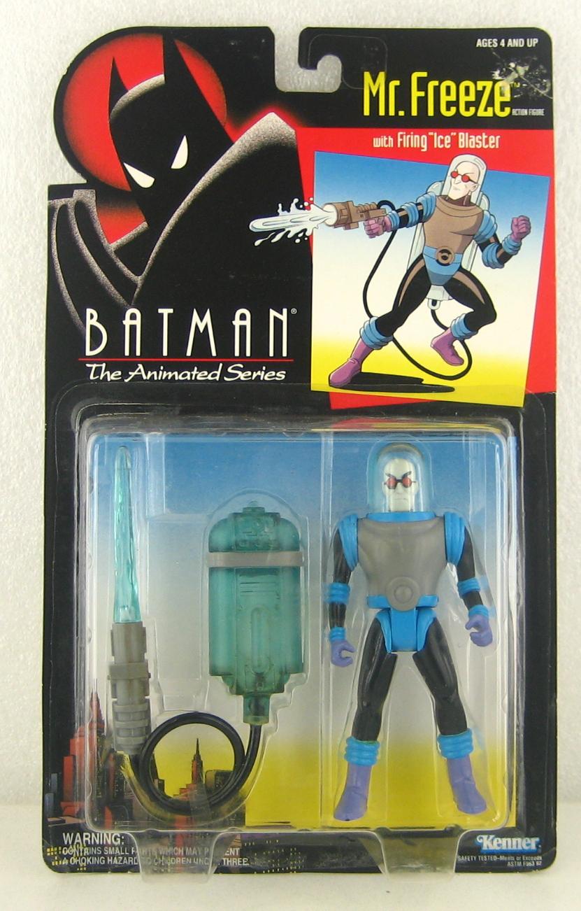 Batman The Animated Series Mr. Freeze Action Figure - MOC