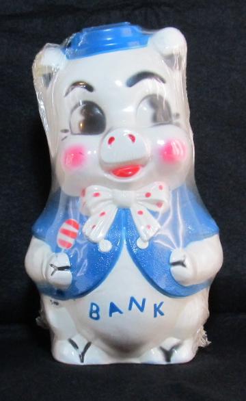 empire white vinyl piggy bank 1