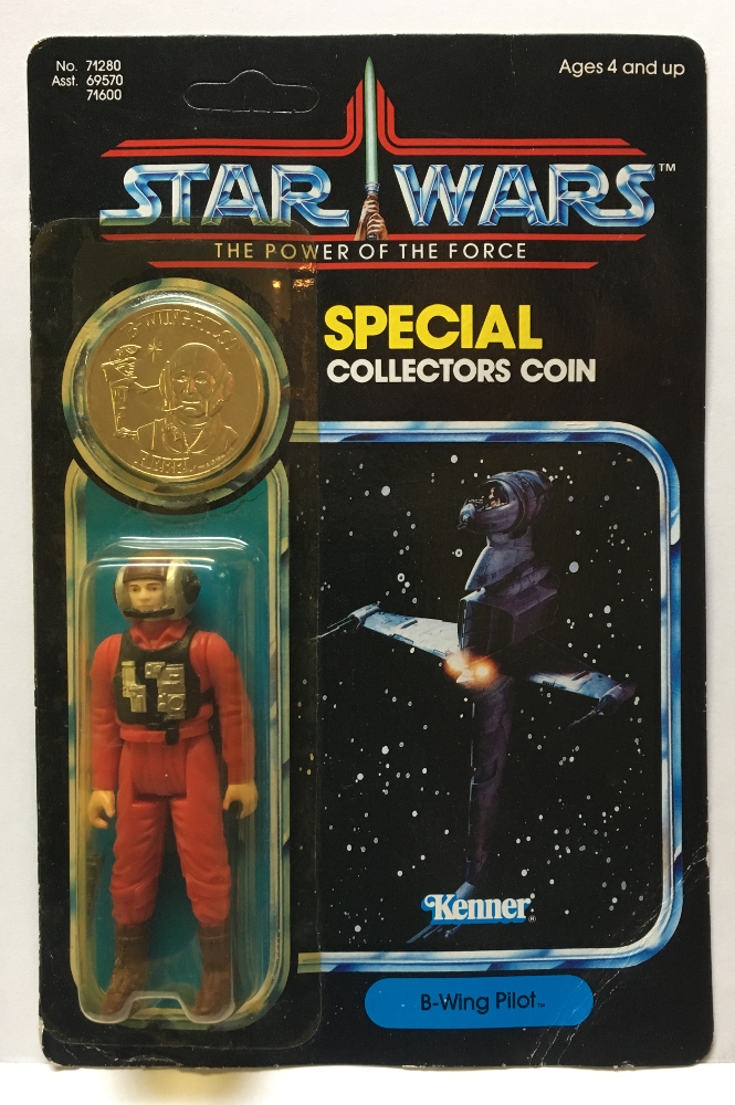 kenner star wars potf b-wing pilot 1