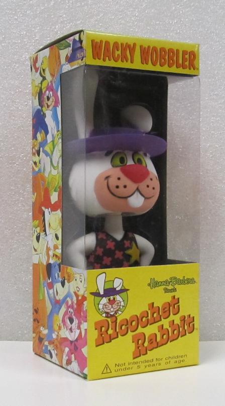 Hanna-Barbera Ricochet Rabbit Wacky Wobbler Bobblehead from Funko